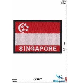 Singapore Singapur - Singapore - Flagge