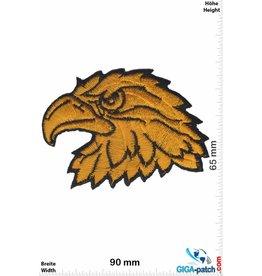 Adler Eagle head - Eagle - gold