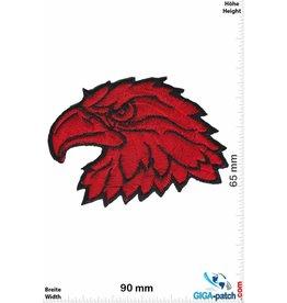 Adler Adler Adlerkopf - Eagle - rot