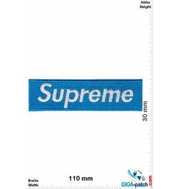 Supreme Supreme silber / hellblau