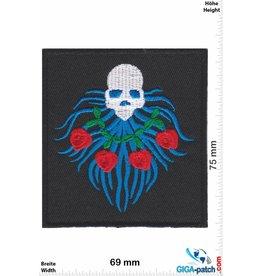 King Skull - black - rose
