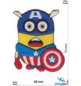 Minion Minions - Captian America - Einfach unverbesserlich - Despicable Me