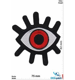 Magic Eyes Magisches Auge rot - Magic Eyes - Fun