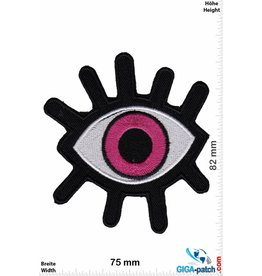 Magic Eyes Magisches Auge pink- Magic Eyes - Fun