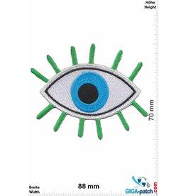 Magic Eyes Magisches Auge grün blau- Magic Eyes - Fun
