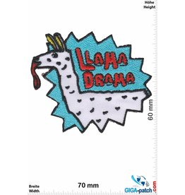 Cartoon Lama Drama
