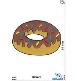 Donut Donut - brown