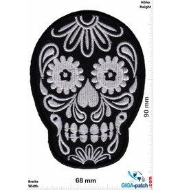 Muerto Skull - Totenkopf - Muerto- black silver