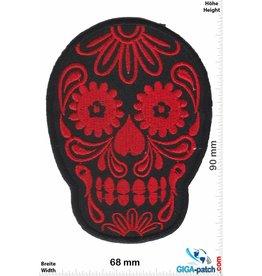 Muerto Skull - Muerto- black red