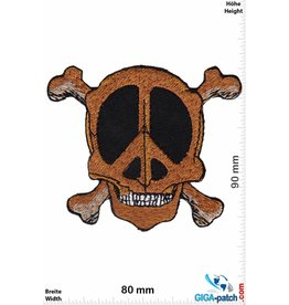 Frieden Peace - Frieden - Skull