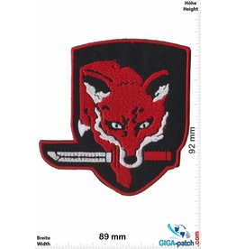 Army Fox Hound- rot - Special Force Group - Metal Gear Saga, Fox Hound SF Group