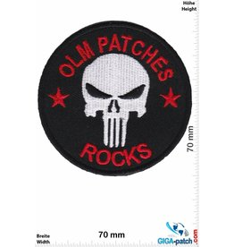 Punisher OLM Patches - Rocks - Punisher