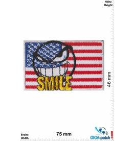 USA, USA USA Flag - United States of America - Smile