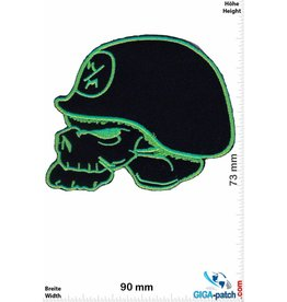 Monster Metal Mulisha - Energy  green black