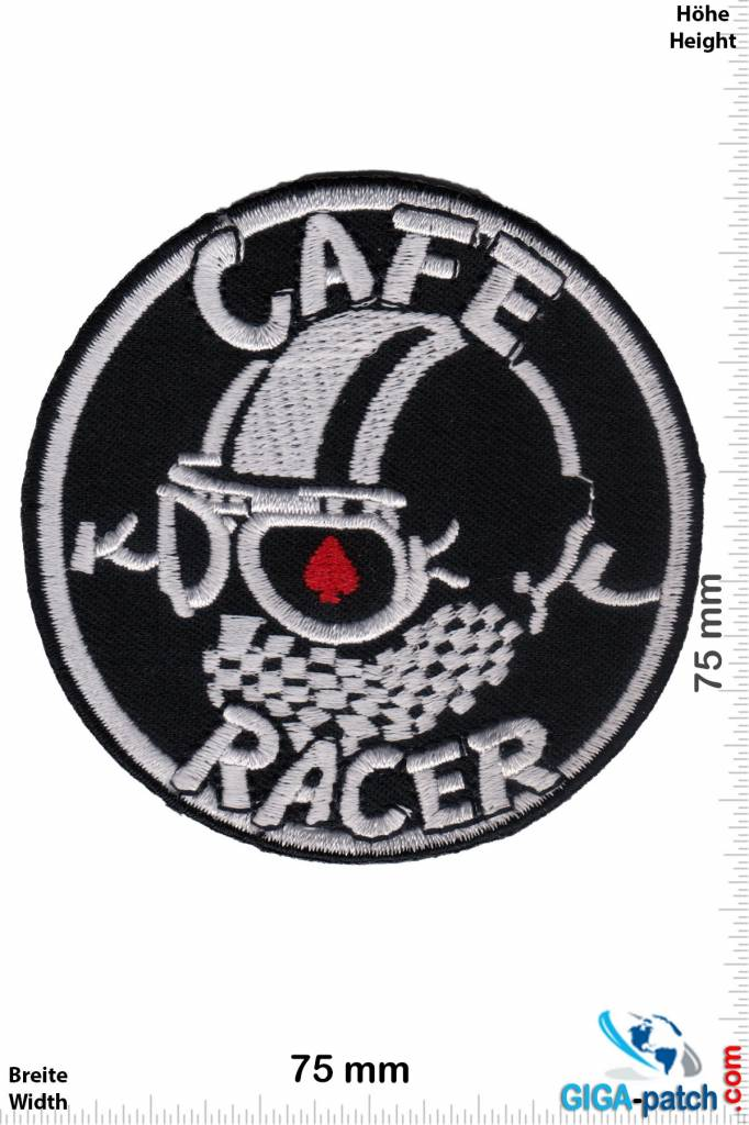 Cafe Racer Patch Back Patches Patch Keychains Stickers Giga Patch Com Biggest Patch Shop Worldwide