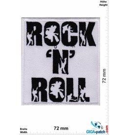 Rock n Roll Rock n Roll - black white