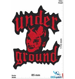 Underground Under Ground - Underground - Music- red