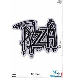 Pizza Pizza - Punk - white black