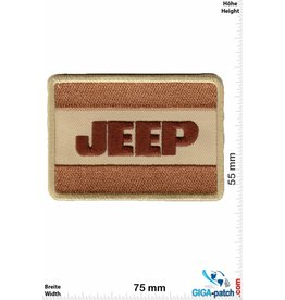 Jeep Jeep - brown