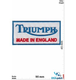 Triumph Triumph - Made in  England  - blue