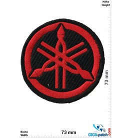 Yamaha Yamaha - Logo - black red