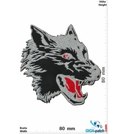 Wolf Wolf - black - Head