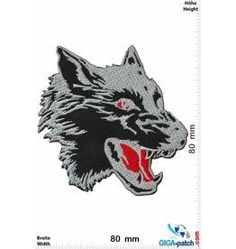 Wolf Wolf - schwarz - Kopf