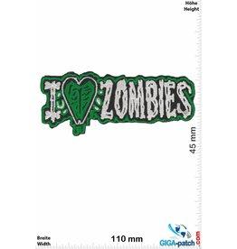 Zombie I love Zombie - grün