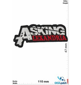 Asking Alexandria  Asking Alexandria - silver red