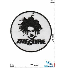 The Cure  The Cure - white black - Pop-/Rock-/Wave-/Gothic-Band