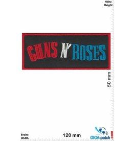Guns n Roses Guns n' Roses - red silver blue
