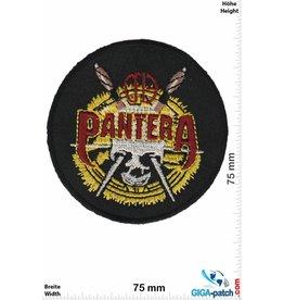 Pantera Pantera - gold round - US Metal-Band