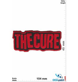 The Cure  The Cure - red - Pop-/Rock-/Wave-/Gothic-Band