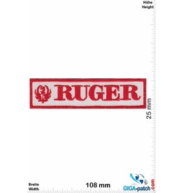 Ruger Ruger - red white