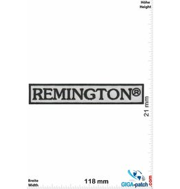 Remington Remington - black white