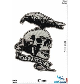 King Expendable - Totenkopf - Skull with bird