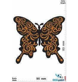 Schmetterling, Papillon, Butterfly Butterfly  -gold - oldschool