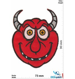 Teufel Roter Teufel - red Devil - Cartoon