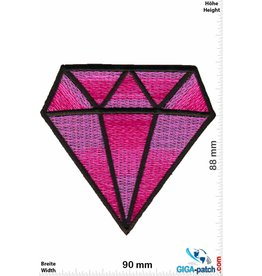 Diamond Big Diamond - pink