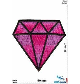 Diamond Diamant - Big Diamond - pink
