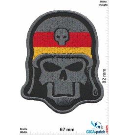 Biker Baby German Biker - Skull