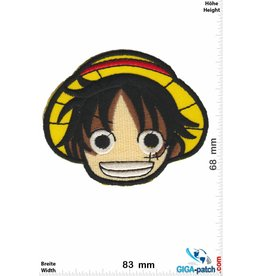 Manga Monkey D. Ruffy - Head - Strohhut Ruffy Manga - One Piece