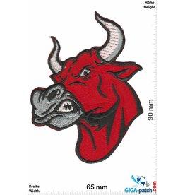 Bulldog Angry Bull red - Red Bull