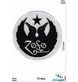 Led Zeppelin ZoSo - Led Zeppelin - black white