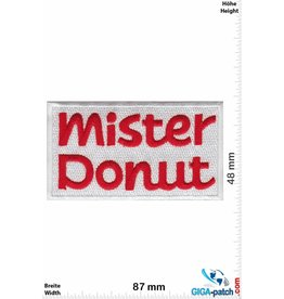 Dunkin Donuts Mister Donuts