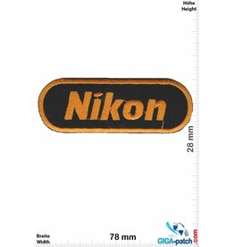 Nikon Nikon - black / gold - small