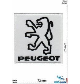 Peugeot PEUGEOT  - black white