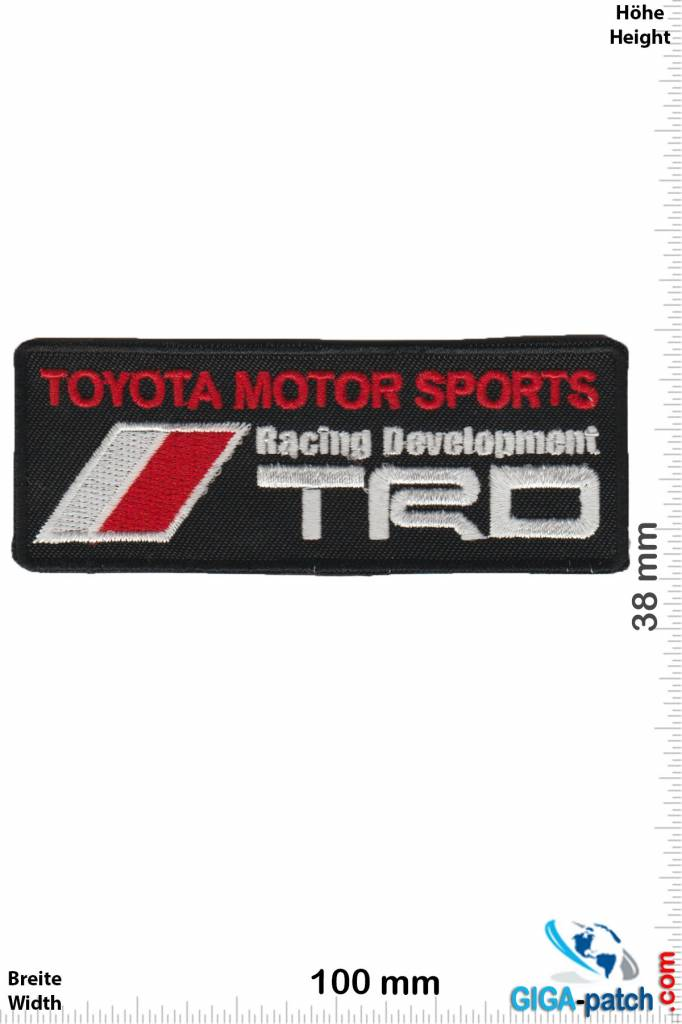 Toyota Patch Back Patches Patch Keychains Stickers Giga Patch Com Biggest Patch Shop Worldwide