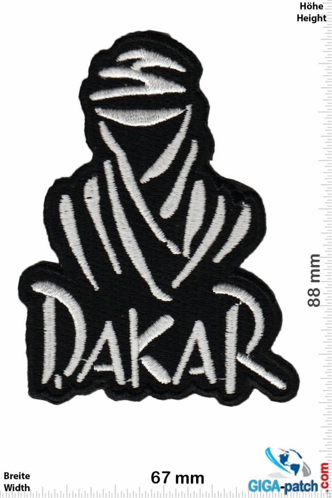 Dakar Patch Aufnäher