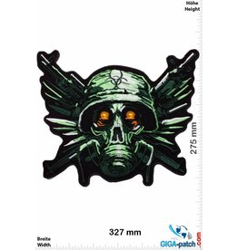 Biohazard BIOHAZARD - Gas Mask- Army - Paintball  - 32 cm